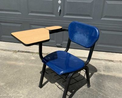 Student Desk with Foldable Top - 3 Available