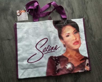 New Selena shopping bag with 2 different sides on the bag