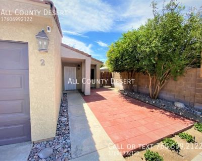 Remodeled, Unfurnished, 3BR/2BA Duplex Unit Available for Long Term Lease in Cathedral City