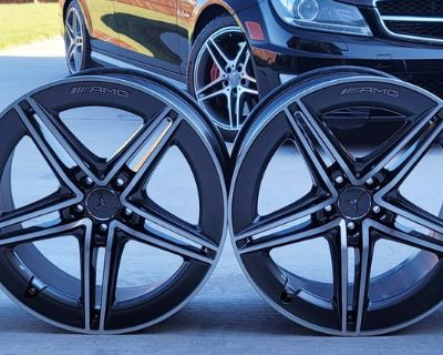 Mercedes AMG GT 43 53 63 4-door Coup X290 Rims 20 Inch A2904010400. A2904010500