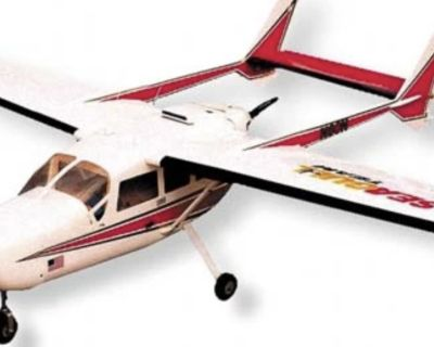 Single Cessna 337 twin os 55ax
