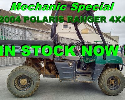 2004 Polaris Ranger 4x4 Utility SxS Salinas, CA