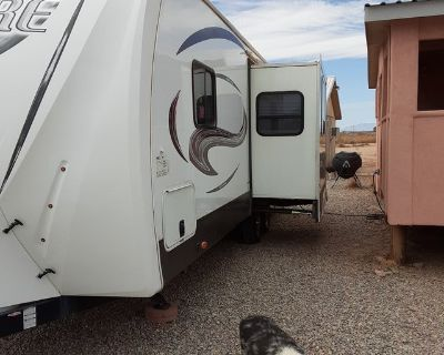 2014 Sabre travel trailer by palomino luxury edition