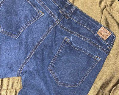 Skinny Leg Stretch Tight Leg Jeans (Lei)