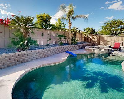 Coachella Escape Private Pool, Hot Tub, Smart Tvs, Grill & Alfresco Dining - Coachella