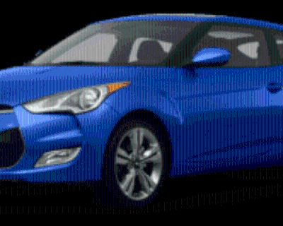 2012 Hyundai Veloster Base with Black Interior Automatic