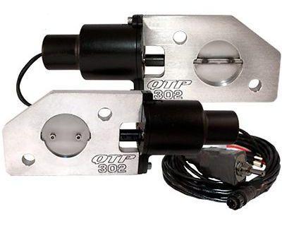 Qtp Qtec302 Mustang Boss 302 Electric Exhaust Cutout Valves