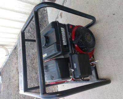 2500w generator Briggs engine