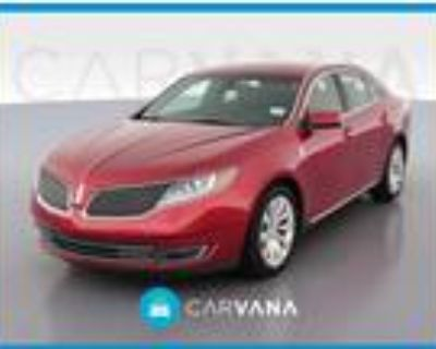 2015 Lincoln MKS Red, 83K miles