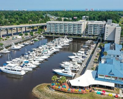 Check out the Boats &the Views from this Gorgeous Condo on the Waterway! - North Myrtle Beach