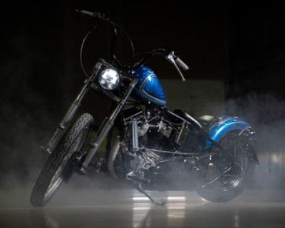1957 Harley Davidson Panhead Bobber