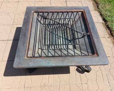 Moroccan Fire pit/BBQ