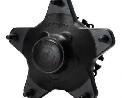 Wilwood 270-12127c Starlite 55xd Wide 5 Aluminum Racing Frnt Wheel Hub Kit Black