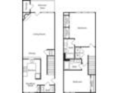 Las Colinas Heights Apartments - B4 2x2 Townhome