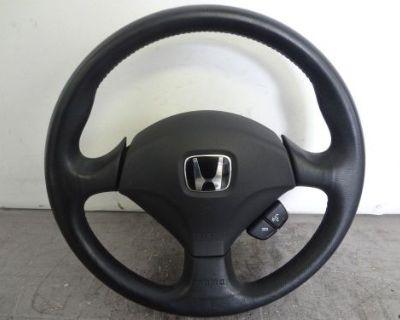 Jdm Honda Accord Euro R Acura Tsx Cl9 Cl7 2004-2008 Steering Wheel Oem Momo