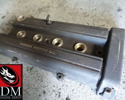 97-02 Honda Crv Cr-v Oem Black Valve Cover Jdm B20b B20z