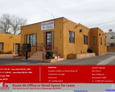 Route 66- Office or Retail Space for Lease