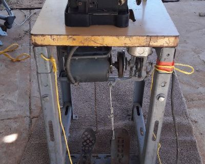 Antique Singer Sewing machine (heavy duty upholstery)