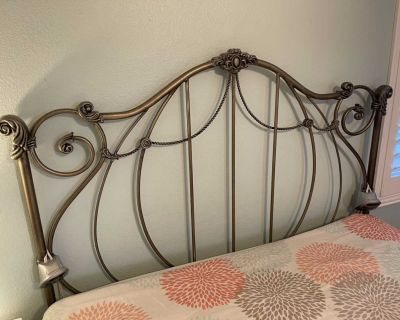 Queen size Bed frame and box spring