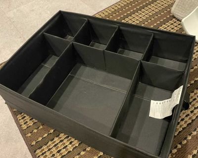 Ikea clothes box insert for drawer