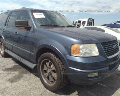 Salvage Blue 2004 Ford Expedition