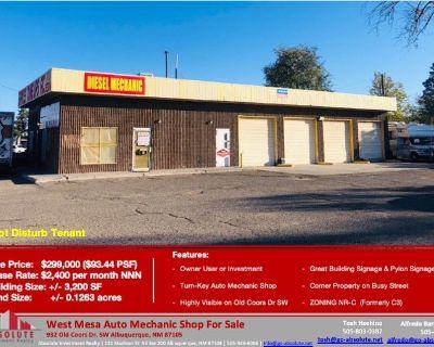 West Mesa Auto Mechanic Shop
