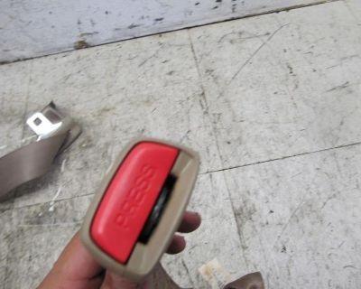 99 00 01 Acura Tl Sedan Left Right Center Rear Seatbelt Seat Belt Buckle End Oem