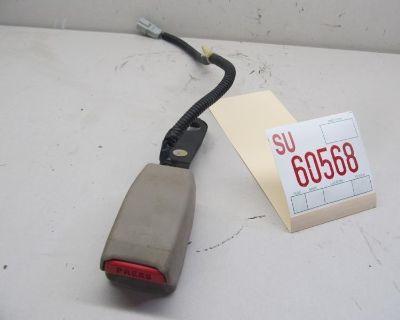 99 00 01 Acura Tl Sedan Left Driver Front Seatbelt Seat Belt Buckle End Oem