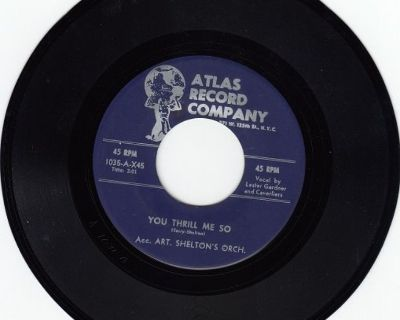 CAVERLIERS ~ You Thrill Me So*Mint-45 !