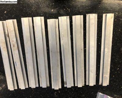 Westfalia camper head liner divider strips