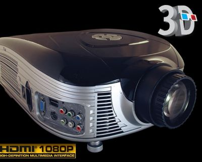 Napali Vision Na-5 LED 3-D Home Theater Projector