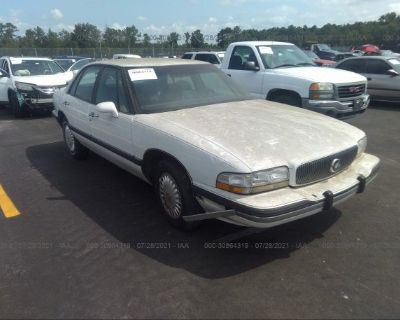 Salvage White 1995 Buick Lesabre