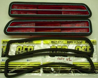1969 Camaro Rs Tail Lamp Light Lens & Gaskets *new* 69