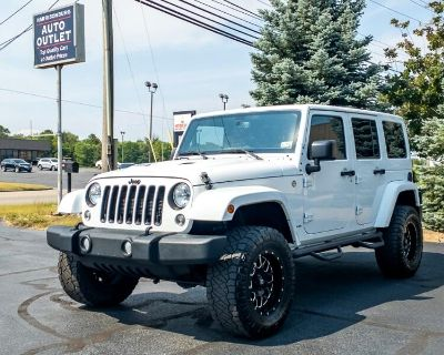 2015 Jeep Wrangler Unlimited X 4D SUV 4WD