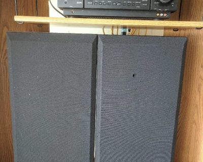 300W AMP with speakers
