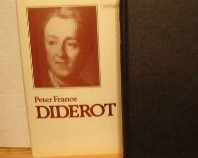 3 PHILOSOPHY hardcovers: Diderot ~ Berkeley ~ Eclecticism. NEW. $25. each.