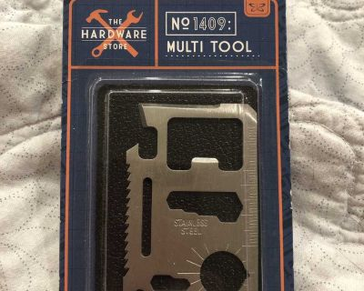 Brand New multi tool for your wallet