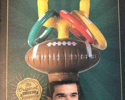 Inflatable ring toss game - perfect for tail gates!