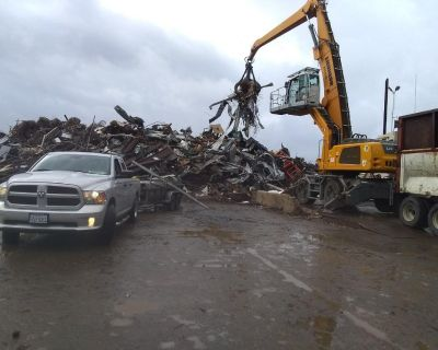scrap metal pickup, property cleanup sacramento