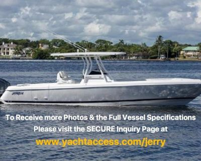 2014, 32' INTREPID 327 CENTER CONSOLE For Sale