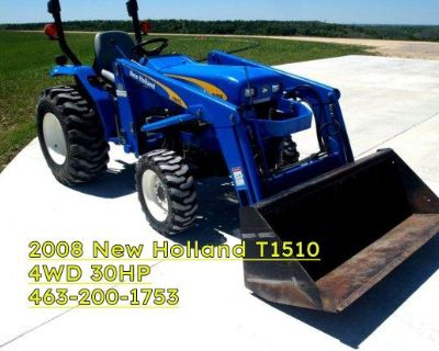 2008 New Holland T1510 4WD Tractor $1800 firm