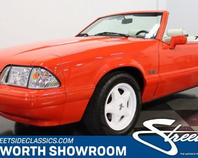 1992 Ford Mustang LX Summer Special Convertible