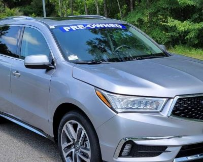 2018 Acura MDX Advance with Entertainment Package