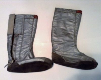 Vintage Simpson1970 Racing Fire Boots