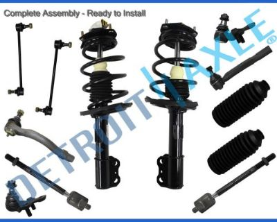 New 12pc Quick Install Strut & Spring Suspension Kit For Toyota Camry And Solara