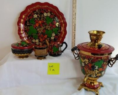 TREASURES IN HAYMARKET- BIDDING ENDS 1/15 AT 6:30PM