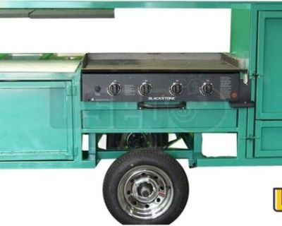 NEW Outdoor Cooking Trailer / Commercial BBQ Pit Smoker Trailer