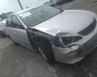 Salvage Silver 2002 Toyota Camry