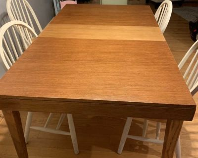 Kitchen Table w/ Leaves (No Chairs)