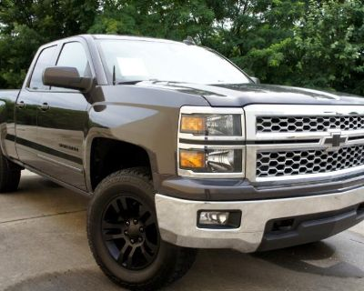 Pre-Owned 2015 Chevrolet Silverado 1500 LT Double Cab 4WD 4WD Truck